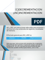 DEC)DECREMENTACION (INC)INCREMENTACION.pptx