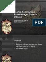 Askep CrohnGÇÖs Disease. tingkat 2