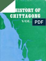 History of Chittagong Vol 1