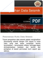 Pengolahan data seismik