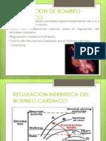 Regulacion de Bombeo Cardiaco