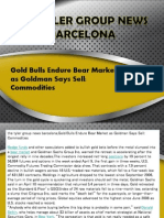 Gold Bulls Endure Bear Market as Goldman Says Sell Commodities