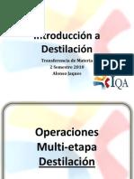Introduccion a La Destilacion
