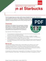 PDF Design at Starbucks