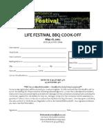 BBQ Cook-Off Registration