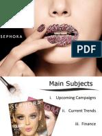 Sephora Presentation