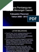 Paparan Rpjmd Kabupaten Pasuruan