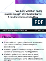 Effect of Whole Body Vibration on Leg Muscle