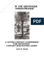 Tales of the Grotesque and Dungeonesqe Compendium i