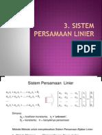 Pertemuan-4 Persamaan-linier