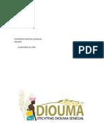 Jaarrekening Diouma Senegal 2008