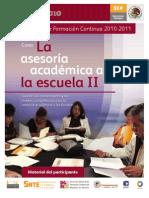 Asesoría II Material del Participante