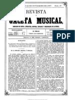 Revista Gaceta y Musica 1867