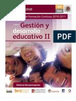 Gestion y Desarrollo II