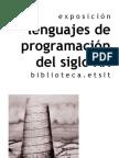 Lenguajes de programación del siglo XX [abril 2007]