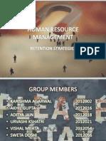 Human Resource Management Retention Grp8