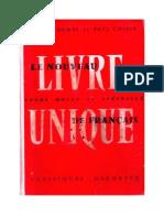 Langue Française Le nouveau livre unique de français 04 Certificat d'études