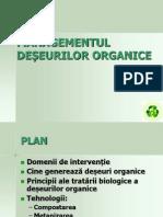 Managementul Deseurilor Organice