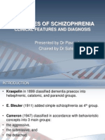 Sub-types of Schizophrenia