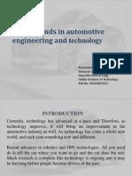 Automotive Engg. & Technology