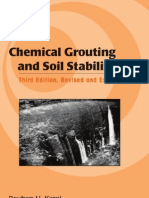 Chemical Grouting and Soil Stabilization Civil and Environmental Engineering