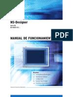 OMRON NS DESIGNER Manual de Funcionamiento