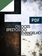 eBook Dois Efeitos Evangelho Spurgeon