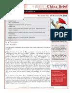 The Jamestown Foundation - China Brief - Volume 9 Issue 23