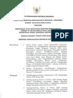 Permendag No. 59 Tahun 2012 Perubahan Permendag No. 27 Tahun 2012 Tentang Ketentuan Angka Pengenal Importir API