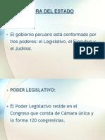 Estructura Dl Estado Peruano Organos Autonomos