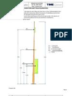 Light pole calculations