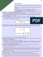 Clausius-Mosotti Equation
