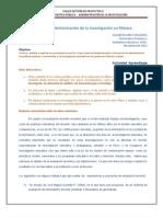 Lopez Oseguera Administración de la Investigación en México