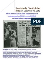 Area 51 Entrevista de David Adair