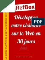 Chapitres 01-02 Développez votre visibilité sur le Web en 30 jours