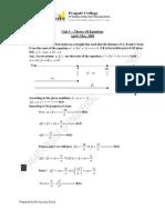 II sem (csvtu) Mathematics Unit 5 (Theory of Equations )Solustions