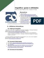 Acordo ortográfico - Guias e Utilidades