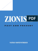 [Nathan Rotenstreich] Zionism Past and Present (S
