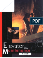 Elevator Maintenance Manual 1999 - Zac MaCain