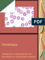 Interpretacion del Sysmex Hematologico