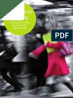 Work Based Learning Catalogue 2012