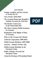 Przegląd Zachodni - Numer specjalny 2012