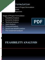 Feasibility Analyses