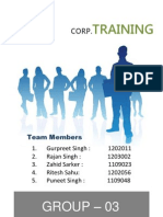 Westpack Corporation Training