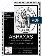 (eBook - Gnosticismo - ITA) - Www.fuocosacro.com - Rivista ABRAXAS - Numero 0
