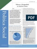 Politica Social Sintesis No 1 Pobreza y Desigualdad en America Latina