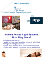 Laser, IPL and LED - Dosimetry