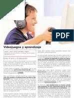 Videojuegos | Ocio y aprendizaje