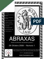 (eBook - Gnosticismo - ITA) - Www.fuocosacro.com - Rivista ABRAXAS - Numero 1