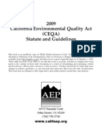 2009 CEQA Statue and Guidelines